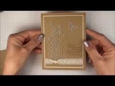 Faux Embossing Technique - YouTube.  Uses white craft ink for the first layer, then overstamp it with the next colour.  Good details on how to use a stampamajig.