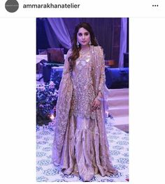 Gorgeous outfit by ammara khan