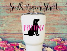 Lab Decal  Labrador Decal   Lilly Pulitzer by SouthUpperStreet