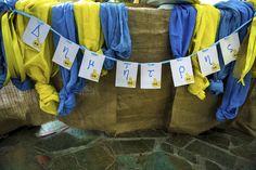 Υποβρύχιο banner! Yellow Submarine, Christening