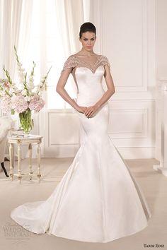 tarik ediz 2014 bridal collection sweetheart trumpet wedding dress 1 barbara g1108