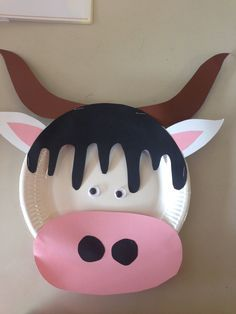 Farm craft idea for kids – Crafts and Worksheets for Preschool,Toddler and Kindergarten Farm Animal Crafts, Farm Crafts, Animal Crafts For Kids, Fun Crafts For Kids, Toddler Crafts, Preschool Crafts, Art For Kids, Free Preschool, Paper Plate Art