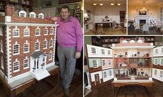 Doting father finishes building doll's house for daughter after 35 years Diy Dollhouse, Dollhouse Furniture, Dollhouse Miniatures, Fairy Houses, Doll Houses, Real Good Toys, Potters House, Barbie Doll House, Miniature Dolls