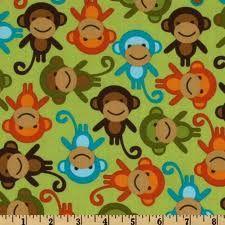 monkey quilt fabric uk - Google Search
