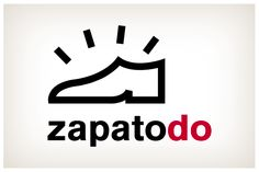 Zapatodo. Diseño y naming para un pequeño comercio dedicado a la reparación de calzado y demás trabajos de piel y marroquinería. © 2012 Veintiocho Estudio Creativo. #logotipo #logotype #veintiocho