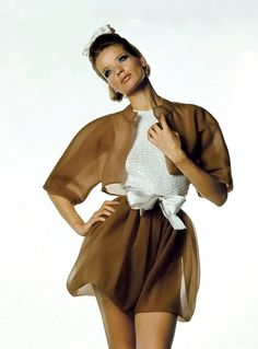 Veruschka by Irving Penn for Vogue 1967