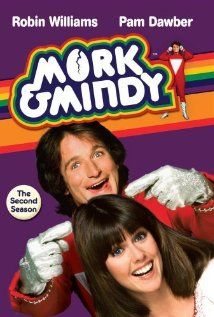 MORK & MINDY (ABC-TV) - Robin Williams - Pam Dawber - TV Series from 1978 thru 1982.