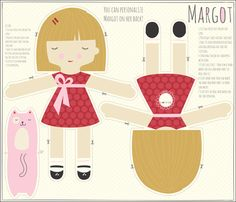 MARGOT_blonde fabric by stacyiesthsu on Spoonflower - custom fabric