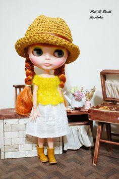 Doll's Hat & Boots