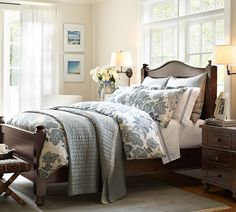 Mahogany Bedroom Furniture Amp Hudson Bedroom Pottery Barn