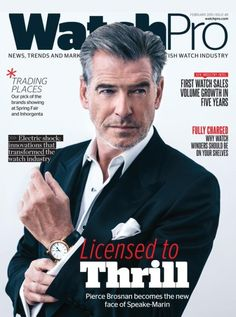 Speake-Marin is proud to be on the cover of WatchPro. A huge thanks to James Buttery and his team!