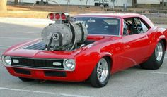 1968 Camaro with a Locomotive Supercharger!