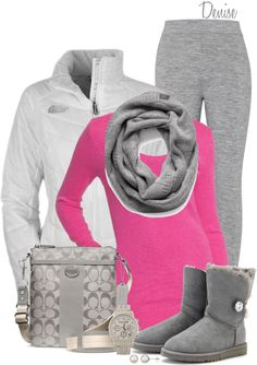 """Scoop Neck sweater"" by deniselanders ❤ liked on Polyvore"