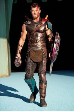"""""""Ladies and gentlemen, I give to you... the lord of thunder."""" #thor"""