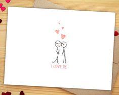 Little Bird Aniversary Card  Matchbox Cute Love Card