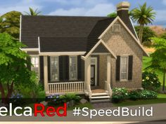 Traditional BaseGame House by NelcaRed at Mod The Sims via Sims 4 Updates  Check more at http://sims4updates.net/lots/traditional-basegame-house-by-nelcared-at-mod-the-sims/
