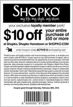 image about Shopko Printable Coupon known as Shopko within just keep coupon codes / Colorado springs lingerie