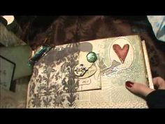 ▶ A beautiful mini album from Pea and some happy mail - YouTube