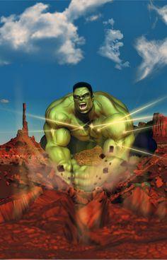 #Hulk #Fan #Art. (Hulk) By: Caruso72. (THE * 5 * STAR * AWARD * OF * ÅWESOMENESS!!!™) [THANK U 4 PINNING!!]