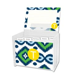 Sunset Beach Recipe Box and Recipe Cards