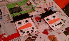 kids craft ... snowmen