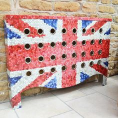 Union Jack Radiator Cover - Rather than getting the flags out cover your radiators with national pride