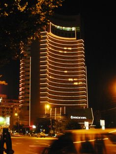 InterContinental Hotel, Bucharest Cn Tower, Country, Building, Travel, Bucharest, Romania, Viajes, Rural Area, Buildings