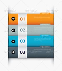 Vector Paper With Index on White Background - Infographics