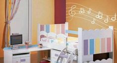 childrens music rooms | ... room decoration | Tagged Music to create a children's room fashion
