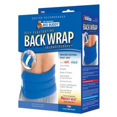Bed Buddy Hot/Cold Therapy Back Wrap - 1 ea
