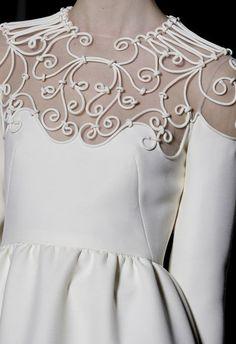 Вышивка шнуром на одежде схемы: способы декора вещей