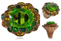 Lydia Courteille Queen of Sheba rings