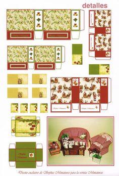 Bienvenidos a mis casitas, miniaturas y demás manualidades.: Publicación revista Miniaturas año 17 nº 166