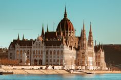 Hungarian Parliament Building - null Cityscapes, Cathedral, Building, Travel, Viajes, Buildings, Cathedrals, Destinations, Traveling
