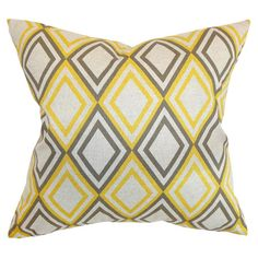 I pinned this Annie Pillow from the Pattern & Pop event at Joss and Main!