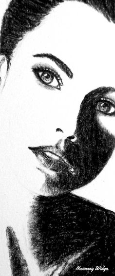 Charcoal sketch 180114 @Novianny Widya