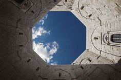 La Puglia si racconta a Expo 2015 Castel Del Monte, Expo 2015, Heaven On Earth, Airplane View, Perspective, Sky, Design, Universe, Heaven