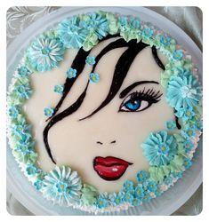 Buttercream Cake, Fondant Cakes, Cupcake Cakes, Cake Decorating Videos, Cake Decorating Techniques, Beautiful Cakes, Amazing Cakes, Birthday Cake For Women Simple, Zebra Birthday Cakes
