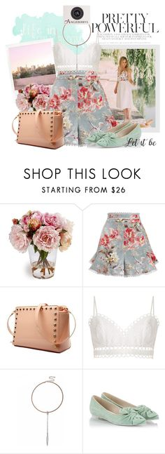 """""""Angieberrys - Summer Romp"""" by sierraday ❤ liked on Polyvore featuring Polaroid, Dorothy Perkins, Zimmermann and RAS"""