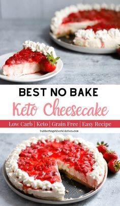 Best No Bake Keto Cheesecake – Perfect and easy no-bake keto cheesecake when you use Perfect Supplements Bovine Gelatin! Best No Bake Keto Cheesecake – Perfect and easy no-bake keto cheesecake when you use Perfect Supplements Bovine Gelatin! Keto Friendly Desserts, Low Carb Desserts, Low Carb Recipes, Healthy Recipes, Dessert Recipes, Diet Recipes, Protein Recipes, Shake Recipes, Lunch Recipes