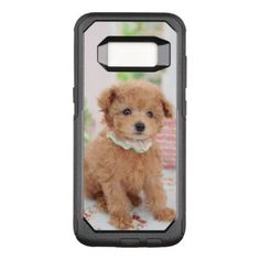 #Poodle Puppy OtterBox Commuter Samsung Galaxy S8 Case - #poodle #puppy #poodles #dog #dogs #pet #pets #cute