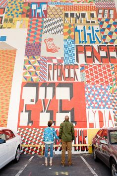 Barry McGee, husband of the late great Margaret Kilgallen.  R.I.P.