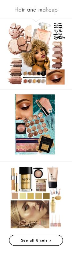 """Hair and makeup"" by shnaasberry ❤ liked on Polyvore featuring beauty, Giorgio Armani, tarte, NYX, Forever 21, Bobbi Brown Cosmetics, Christian Louboutin, Stila, Charlotte Russe and MAC Cosmetics"