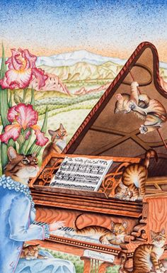 """La valse du cat"" par Bernard Vercruyce"