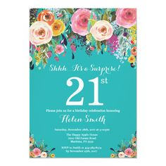 BUY NOW, CHANGE LATER! Gather guests with amazing Surprise birthday invitations from Zazzle! Birthday party invitations in a range of themes! 13th Birthday Invitations, Gold Invitations, Birthday Cards, Quinceanera Invitations, Custom Invitations, Invitation Design, Adult Birthday Party, 15th Birthday, Gold Birthday