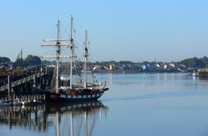 Nantes La Boudeuse et Trentemoult Beaux Villages, Belem, France Europe, Aquitaine, Alsace, Sailing Ships, Boat, 2013, Brittany