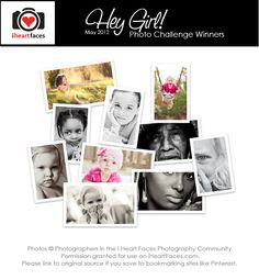 Beautiful winning photos for the I Heart Faces Photo Challenge! www.iheartfaces.com