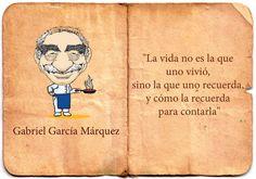 Lo amo <3 Gabriel Garcia Marquez