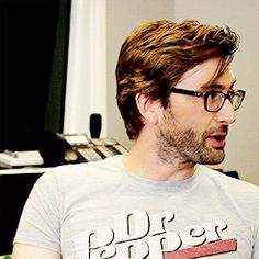 David Tennant has the best laugh. :) <-- Truth!