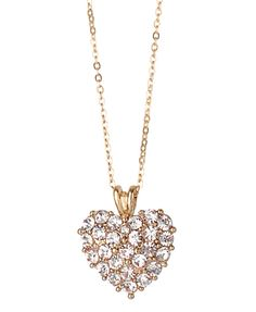I actually have this necklace but it's pink.